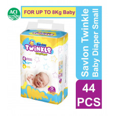 Twinkle Baby Diaper Small Up to 8 Kg 44 pc