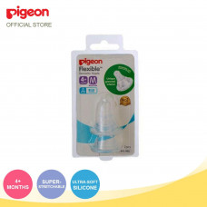Pigeon Flexible Peristaltic Nipple Medium 2 Pcs