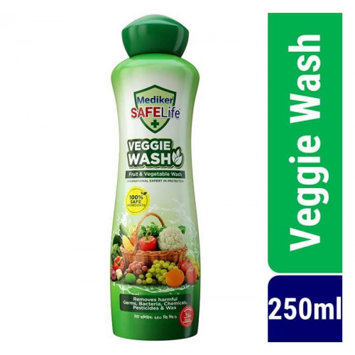 Mediker SafeLife Veggie Wash 250ml (Fruit & Vegetable Wash)