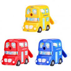 Deli Bus Rotary Pencil Sharpener (E0674)