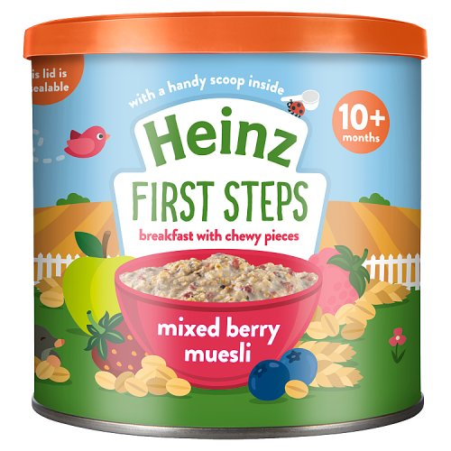 Heinz Mixed Berry Muesly 10 Month+ 240 gm