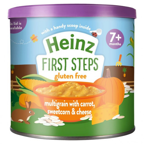 Heinz Multigrain with Carrot, Sweetcorn & Cheese 7 Months+ 240 gm