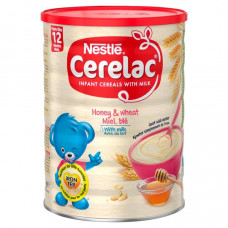 Nestle Cerelac Honey & Wheat with Milk 12 months + 1Kg