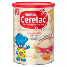 Nestle Cerelac Honey & Wheat with Milk 12 months + 400 gm (Switzerland)