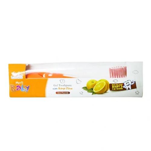 Meril Baby Gel Toothpaste Combo