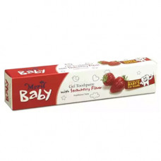 Meril Baby Gel Toothpaste Strawberry - 45g