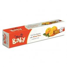 Meril Baby Gel Toothpaste Orange - 45g