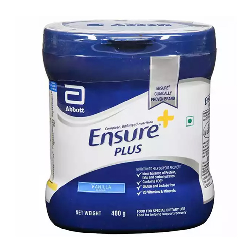 Ensure Plus Vanilla 400 gm  (BIJ)