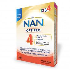 Nestlé NAN 4 Optipro 350 gm BIB
