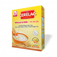 Nestlé Cerelac Stage 1 Wheat & Milk 6 months + 400 gm BIB