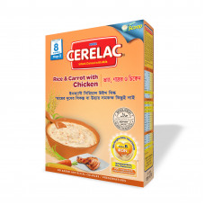 Nestlé Cerelac Stage 2 Rice Carrot & Chicken 8 months + 400 gm BIB