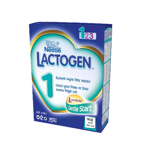 Nestlé LACTOGEN 1 Infant Formula with Iron 350 gm BIB