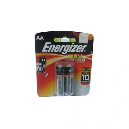 Energizer Max 1.5V AA Battery 2 Pcs