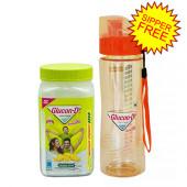 Glucon D Nimbu Energy Glucose Jar 400 gm (Water Bottle Free)