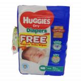 Huggies Newborn Belt Diaper 0-5 Kg - 64 Pcs (Malaysia)