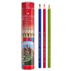 Faber-Castell Buntstifte Classic Color Pencils Long Tin 12 Pcs