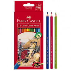 Faber-Castell Classic Color Pencils Long Paper Box