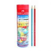 Faber-Castell Aquarellstifte Watercolor Pencils Long Tin 36 Pcs