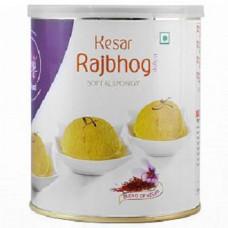 Haldiram Kesar Rajbhog Soft & Spongy In Syrup 1 Kg