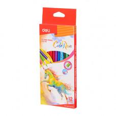 Deli Colored Pencil 12 Pcs