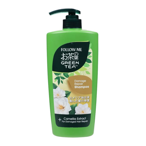 Follow Me Green Tea Shampoo - Damage Repair 650 mL