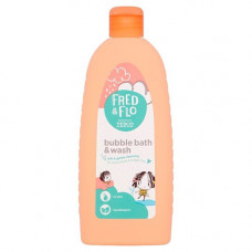 Tesco Fred & Flo Bubble Bath & Wash 500 mL