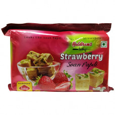 Haldiram Soan Papdi Strawberry 200 gm Buy 1 Get 1