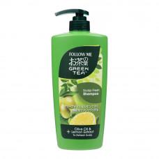 Follow Me Green Tea Scalp Fresh Shampoo 650 mL