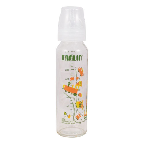 Farlin TOP-707G Heat Resistant Feeding Bottle 8 oz