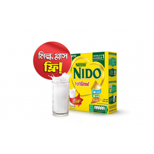 Nestle NIDO Fortigrow Full Cream Milk Powder 700g (BIB)