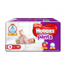 Huggies Wonder Pants Small 4-8 Kg 42 Pcs