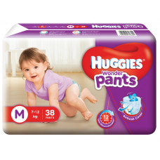 Huggies Wonder Pants Medium 7-12 Kg 38 Pcs