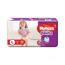 Huggies Wonder Pants Large 9-14 Kg 32 Pcs