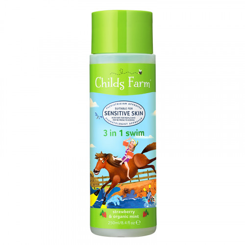 Childs Farm 3 in 1 Swim & Bath Strawberry & Organic Mint 250 mL