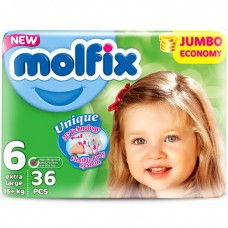 Molfix Twin Belt 15+ Kg 36 Pcs (Made in Turkey)