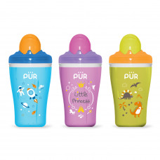 Pur Insulated Straw Cups 250 ml