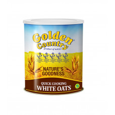 Golden Country Quick Cooking White Oats Tin 500 gm
