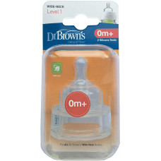 Dr. Brown's Options+ 0m Teat 2Pk