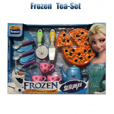 Frozen Tea Set With Pizza Cutter For Kids