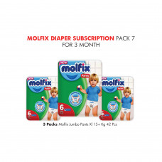 Molfix Diaper Subscription Pack 7 for 3 Months