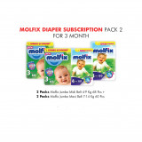 Molfix Diaper Subscription Pack 2 for 3 Months
