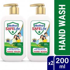 Mediker SafeLife Hand Wash Pump Combo Pack (200ml X 2pcs)