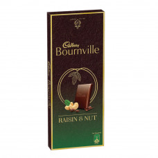 Cadbury Bournville with Raisin Nuts Milk and Cashew Nuts Chocolate 80gm