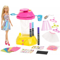 Barbie GHH11 Crayola Skirt Studio with Bag
