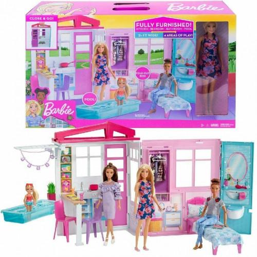 Barbie Fxg55 House & Doll