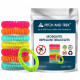 Pitch and Trek Mosquito Repellent Bracelet 10 Pieces Per Pack
