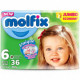 Molfix Twin Belt 15+ Kg 36 Pcs (Made in Turkey)