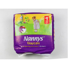 Nannys Baby Diaper 4 Maxi Belt 8-18 kg 26 pcs (Made in Cyprus)