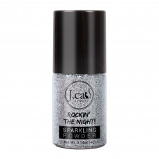 J.Cat Beauty Sparkling Powder- Cool Silver