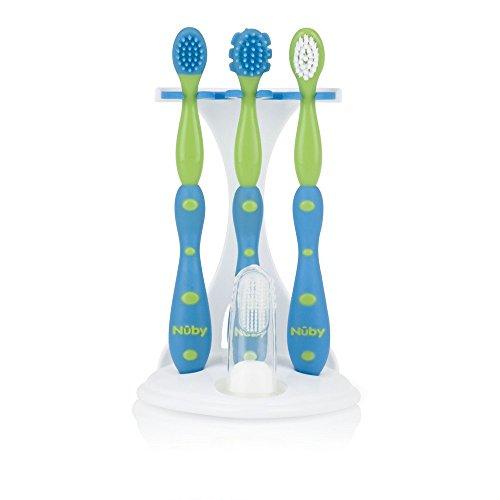 Nuby Toddler Training Toothbrush Set